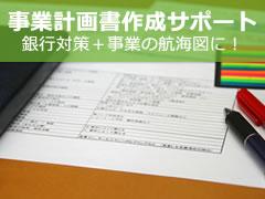 事業計画書作成サポート 銀行対策+事業の航海図に!
